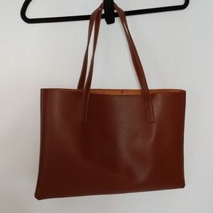 Vince Camuto Bags - VINCE CAMUTO NEW Brown Pebble Tote